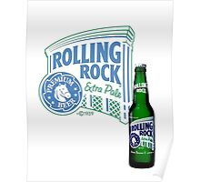 Rolling Rock Poster