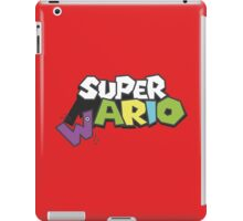 Wario Vs Super Mario iPad Case/Skin