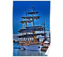 Sail Boston Mircea  ( front view) Poster