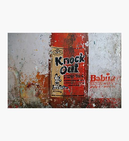 Knock Out - Strong Beer Photographic Print