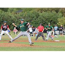 Young gun on the mound Photographic Print