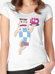 Mudka's Meat Hut Women's Fitted Scoop T-Shirt