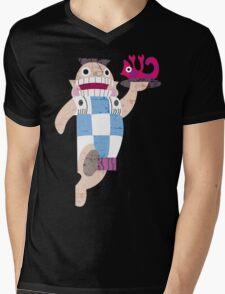 Mudka's Meat Hut Mens V-Neck T-Shirt