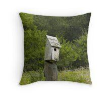Tennessee Birdhouse Throw Pillow