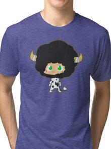 Lambo 10th vongola lighting guardian Tri-blend T-Shirt