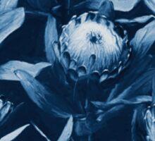 Evening Proteas - Denim Blue Sticker