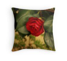 Camellia Victorian Style Throw Pillow