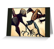 crow dance Greeting Card