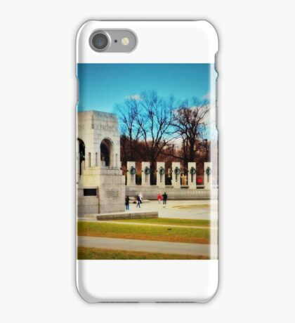 World War II Memorial - Washington D.C. iPhone Case/Skin