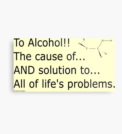 To alcohol!!! Metal Print