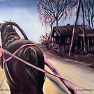 Purple Horse @ www.KeithMcDowellArtist.com by  Keith McDowell, Artist