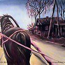 Purple Horse @ www.KeithMcDowellArtist.com by © Keith McDowell, Artist