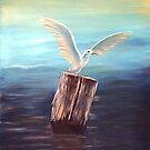 Seagull @ www.KeithMcDowellArtist.com  by  Keith McDowell, Artist