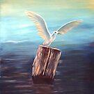 Seagull @ www.KeithMcDowellArtist.com  by © Keith McDowell, Artist