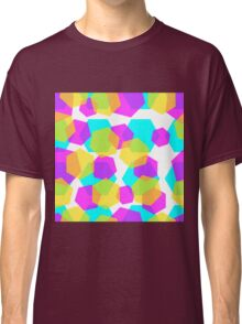 Diamonds color abstract background pattern.  Classic T-Shirt