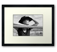 Don't Fence Me In #2 Framed Print