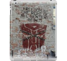 'Freedom' with background iPad Case/Skin