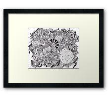 Ink Design Framed Print