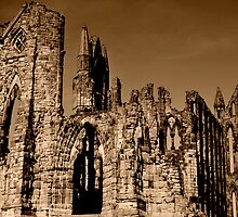 Whitby Abbey by Brendan Buckley