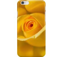 Macro Yellow Rose iPhone Case/Skin