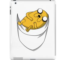 Pocket Jake the dog. Adventure time iPad Case/Skin