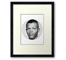 Samuel L. Jackson Framed Print