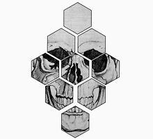 Honey Comb Skull Unisex T-Shirt