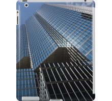 Silver Lines to the Sky - Downtown Toronto Skyscraper iPad Case/Skin