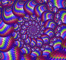 Blue balls Fractal Art by Pixie Copley LRPS