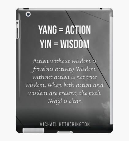 Yin and Yang iPad Case/Skin
