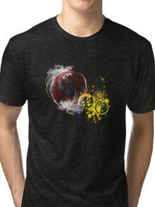 Rainbow fractal Tri-blend T-Shirt