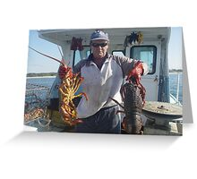Lobsters or Crayfish? Greeting Card