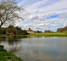 Castle Howard from the Lake by Carol Bleasdale