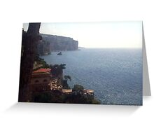 Vista del Costa Greeting Card