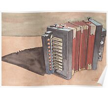 Button Accordion Poster
