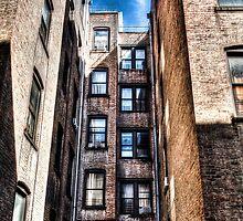 NYC Apartment View by John Bauder