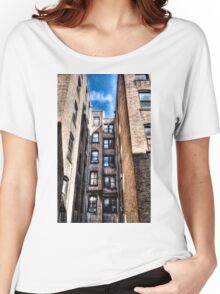NYC Apartment View Women's Relaxed Fit T-Shirt