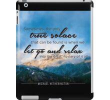 True Solace iPad Case/Skin