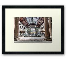 Stazione Genova Principe Framed Print