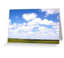 Kansas Clouds Greeting Card