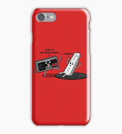 This is the eighties! Nes iPhone Case/Skin