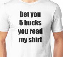 Money Maker Black Unisex T-Shirt