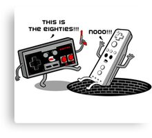 This is the eighties! Nes Canvas Print