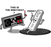 This is the eighties! Nes Photographic Print