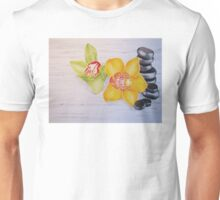 Orchids and stones  Unisex T-Shirt