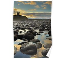 Dunstanburgh Castle, Northumberland Poster