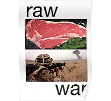 Raw War Poster