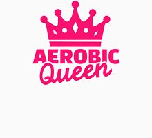 Aerobic Queen Womens Fitted T-Shirt