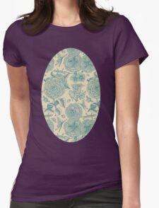 Garden Bliss - teal & cream  T-Shirt