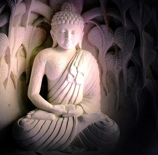 Meditating Buddha, Bali by JonathaninBali